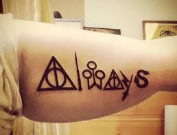 always tatuajes harry potter