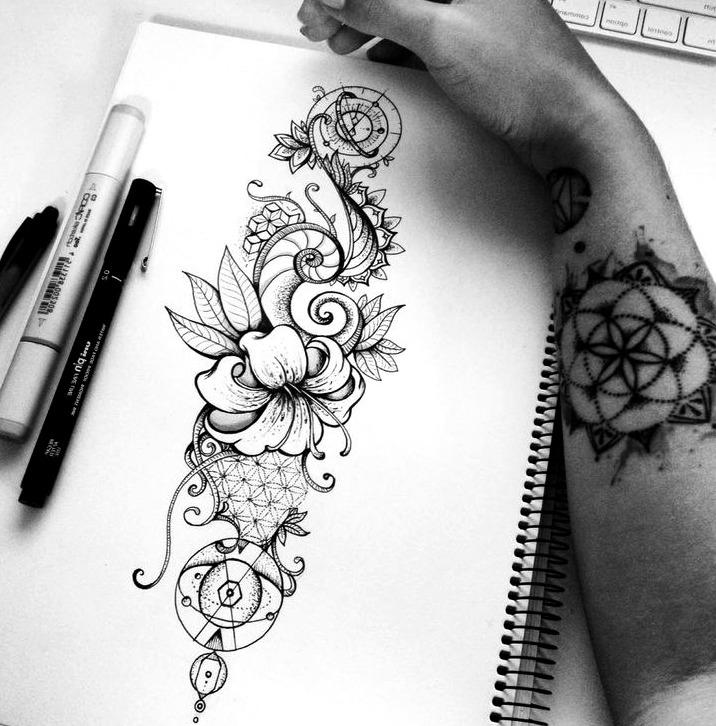 36 Ideas De Bocetos De Tatuajes De Hombre Mujer Significado