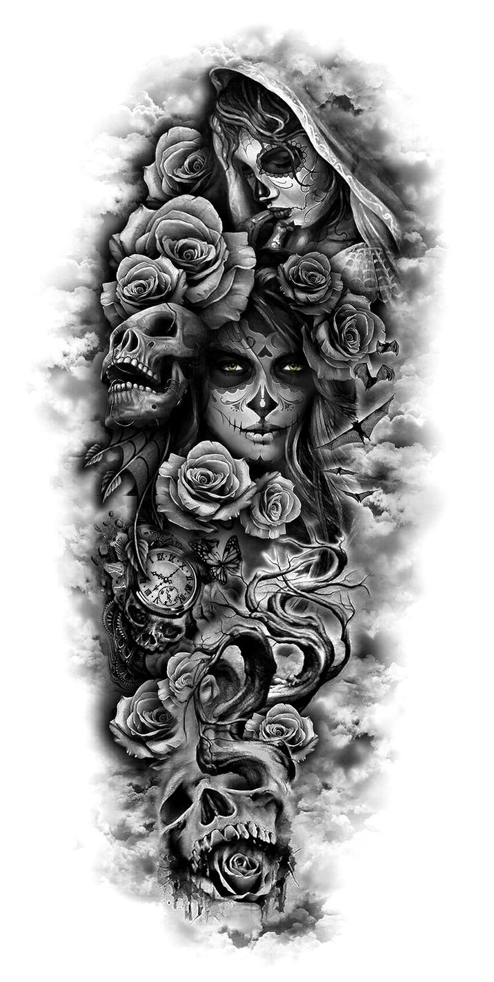 Como Hacer Un Diseño Para Tatuaje 33 ideas de dibujos de tatuajes de hombre y mujer (+significado)