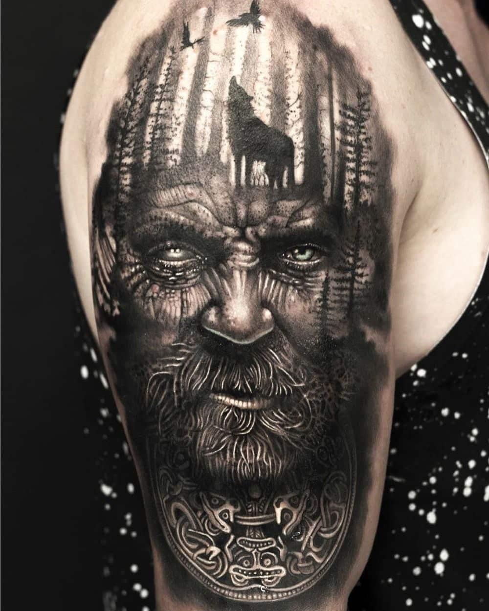 ejemplos tatuajes nórdicos
