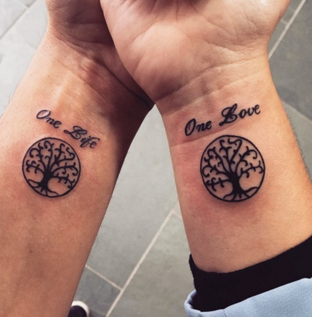 Frases para tatuarse en pareja