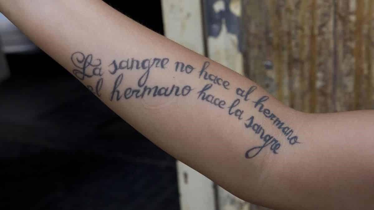 frases y citas tatuajes de hermanos