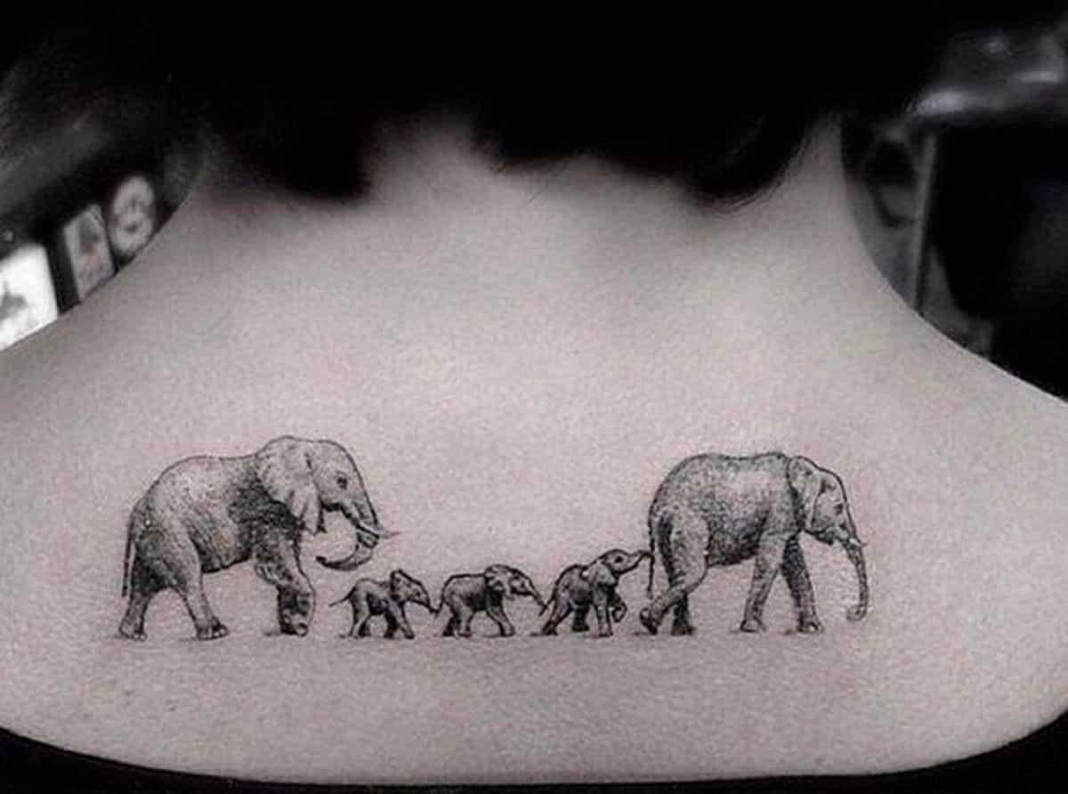 idea de tatuajes de familia