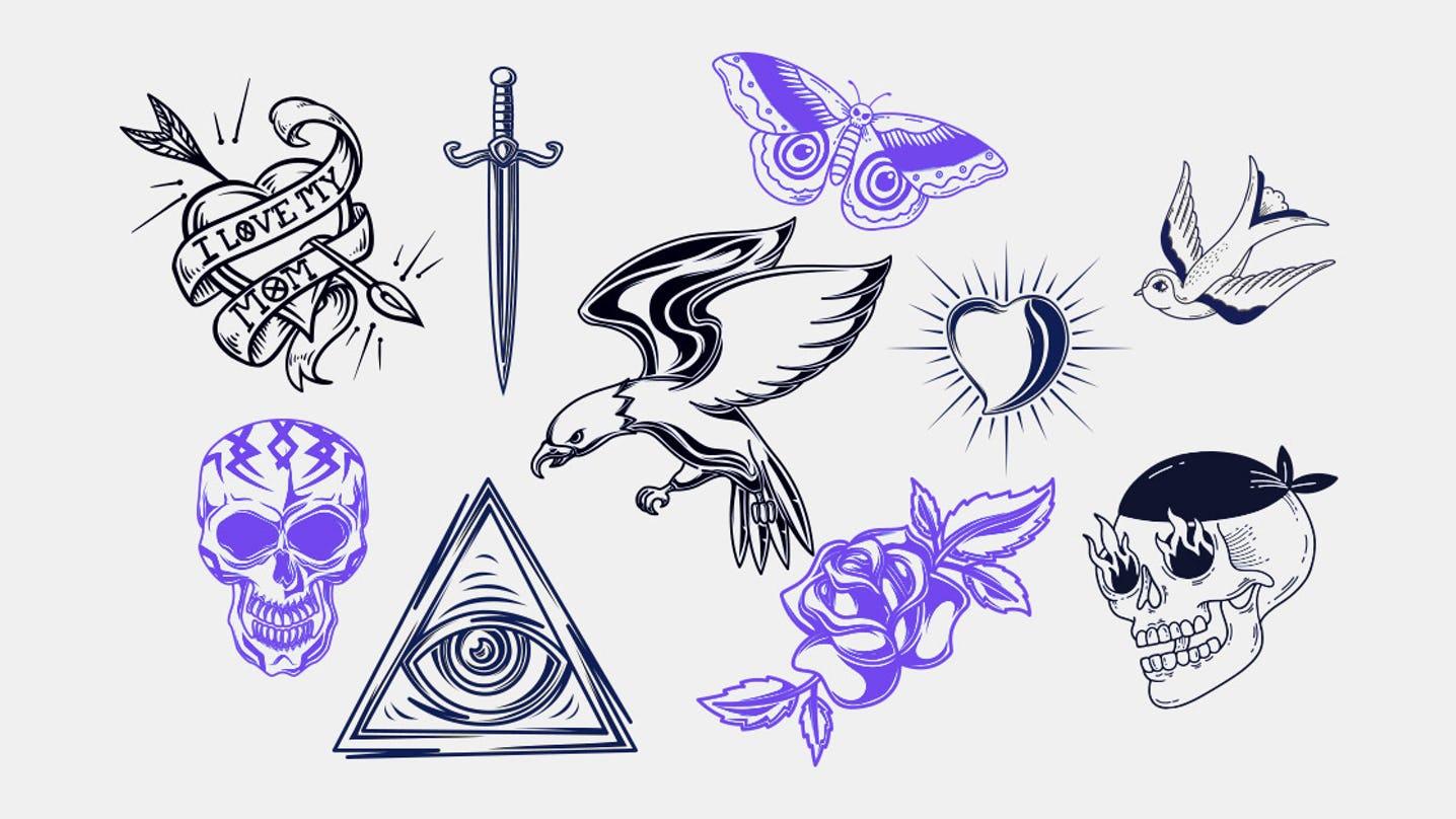 ideas de plantillas de tatuajes