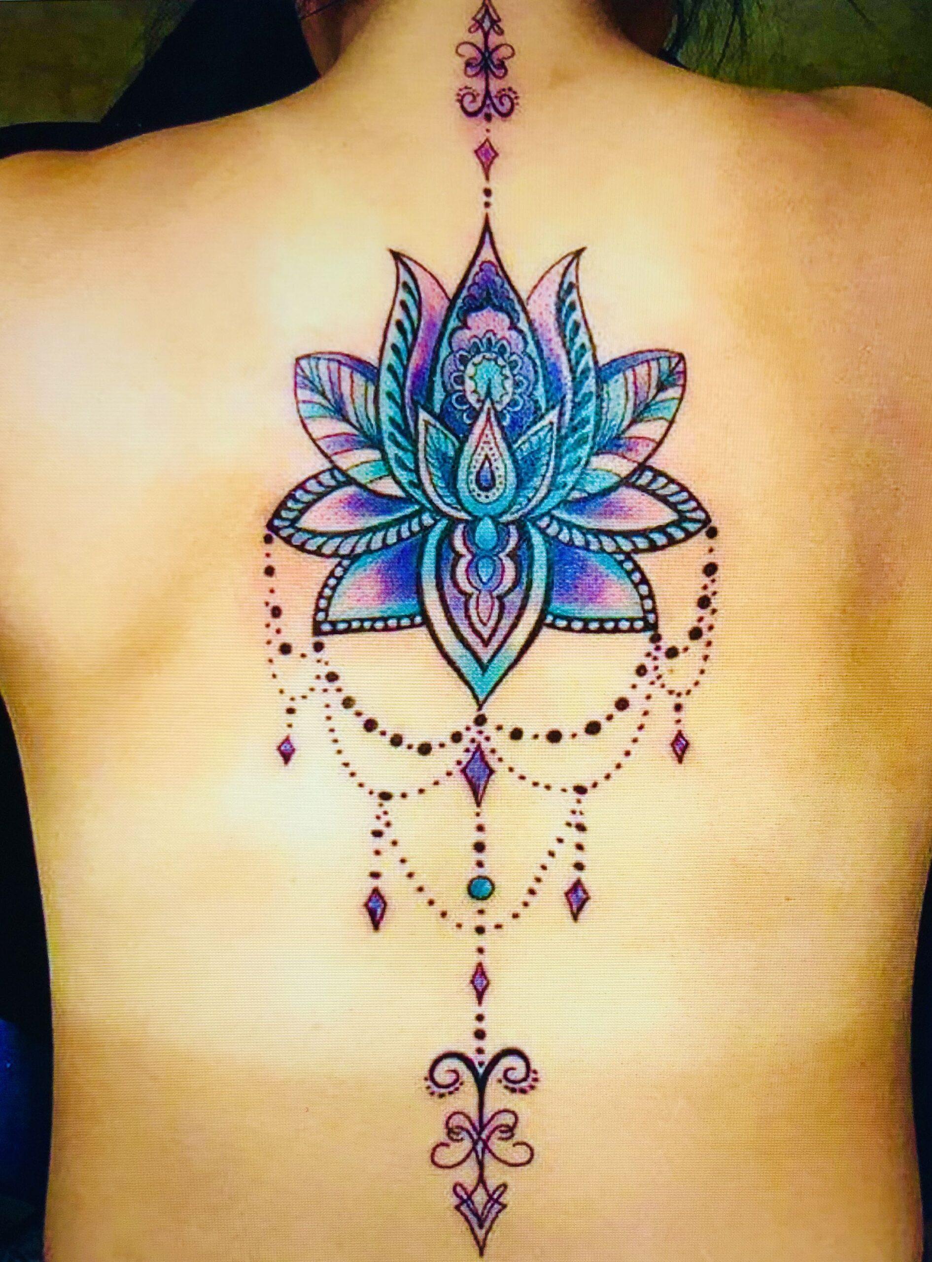 ideas tatuajes flor de loto