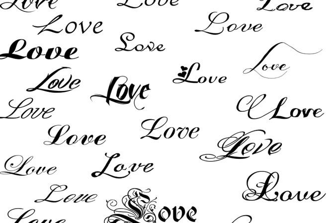 Letras para nombres tatuados