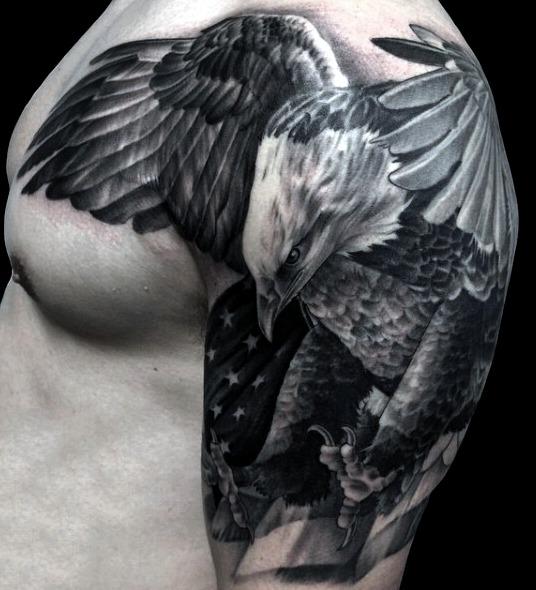 9 Ideas De Tatuajes De águilas De Hombremujer Fotossignificado