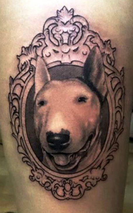 Tattoos de bull terrier