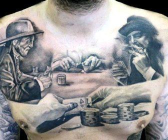 Tatuajes de cartas de póker