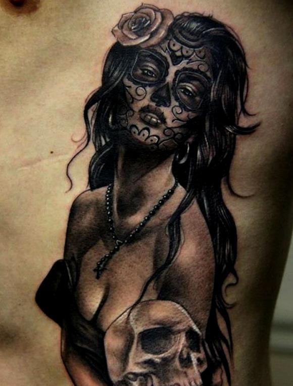 Tattoos deCatrinas sexys
