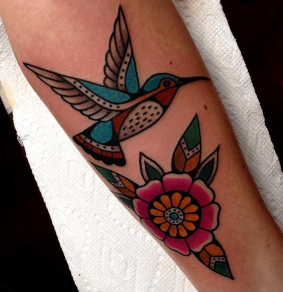 Tattoos de colibríes