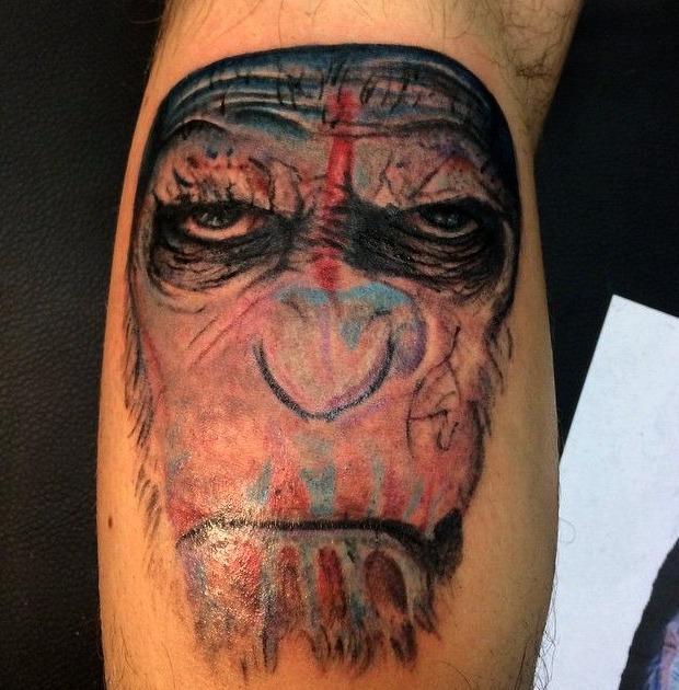 15 Ideas De Tatuajes De Monos De Hombremujer Fotossignificado