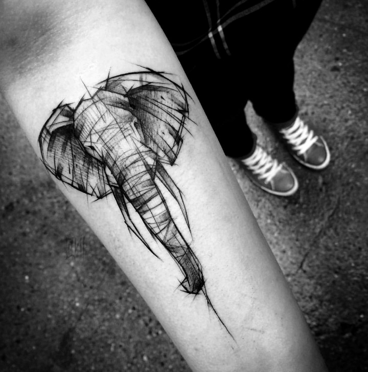 Las 24 Mejores Ideas De Tatuajes De Elefantes Hombremujer