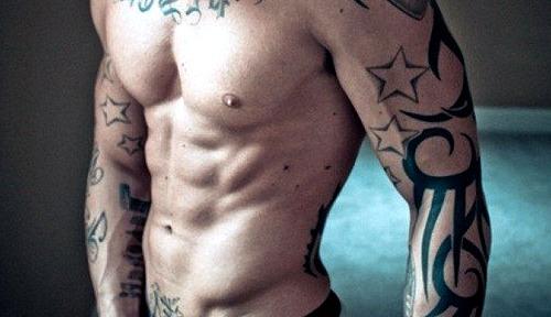 Tattoos de estrellas para hombres