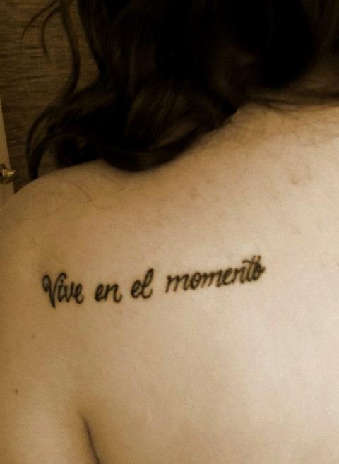 Tattoos de frases motivadoras
