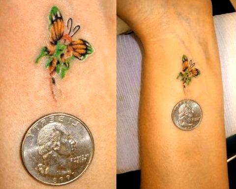 Tattoos de hadas en la muñeca