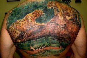 Tatuajes de leopardos