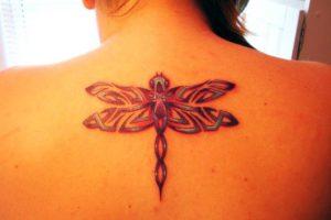 Tatuajes de libélulas