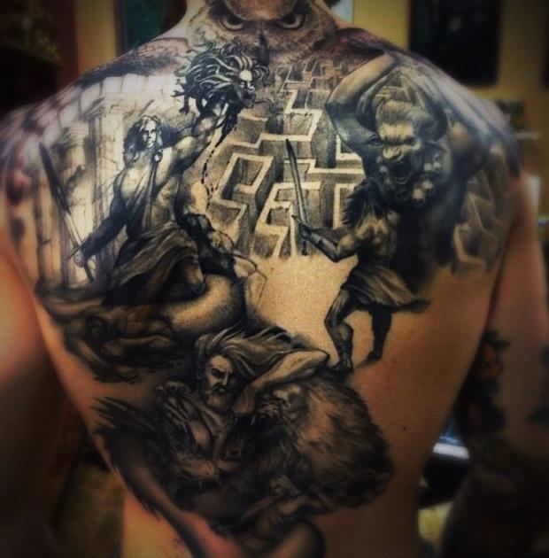 Tattoos de minotauros