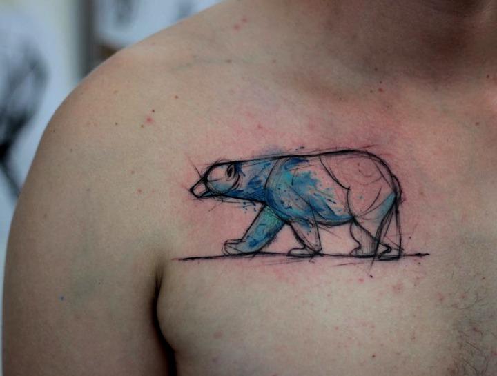 Tattoos de oso polar