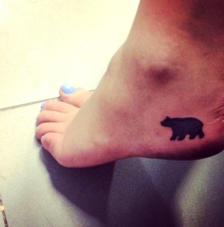 Tattoos de osos pequeños
