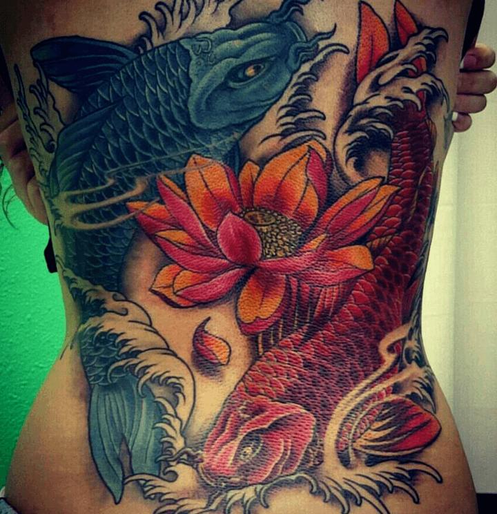 36 ideas de tatuajes de peces de hombre mujer fotos