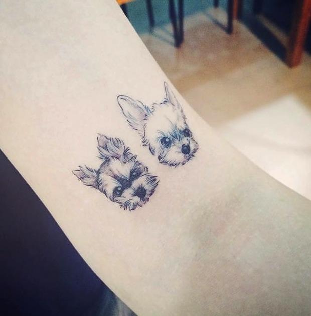 30 Ideas De Tatuajes De Perros De Hombremujer Fotossignificado