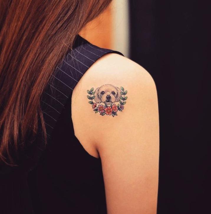 Tattoos de perritos pequeños