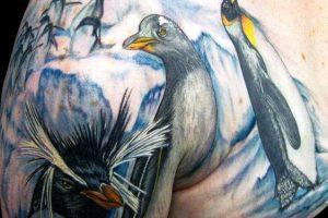 Tatuajes de pingüinos