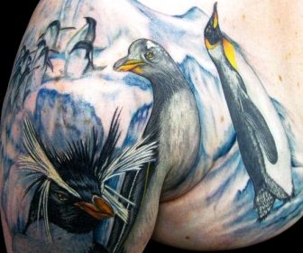 Tatuajes de pinguinos