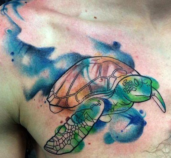 Tattoos de tortugas marinas