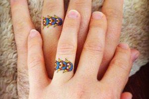 Tatuajes de anillos y alianzas