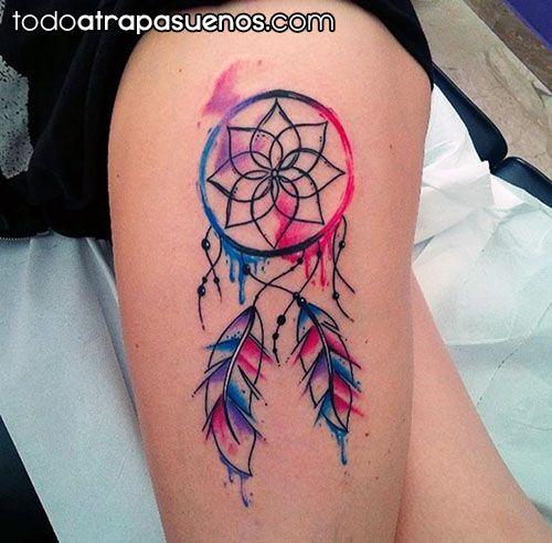 42 Tatuajes De Atrapasueños Con Significado Para Hombres Y Mujeres