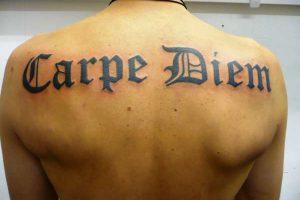 Tatuajes de Carpe Diem