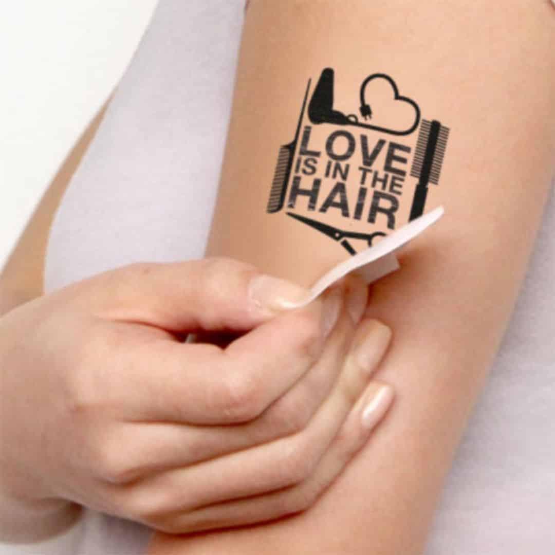 tatuaje de adhesivo