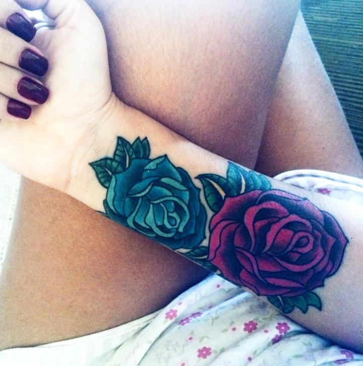30 Ideas De Tatuajes De Rosas De Hombre Mujer Fotos Significado