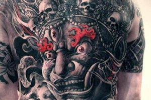 Tatuajes de demonios