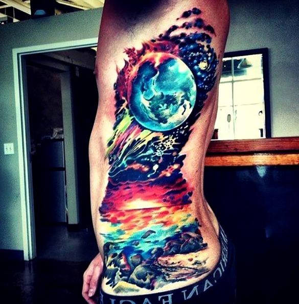 Tatuajes artísticos para hombres