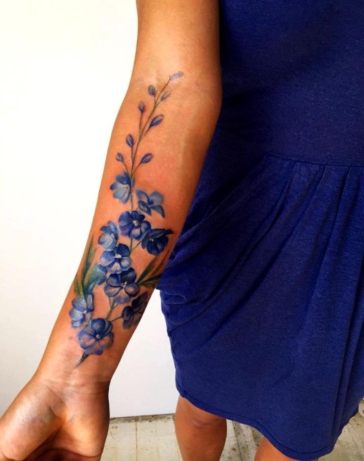 Tatuajes bonitos en el brazo