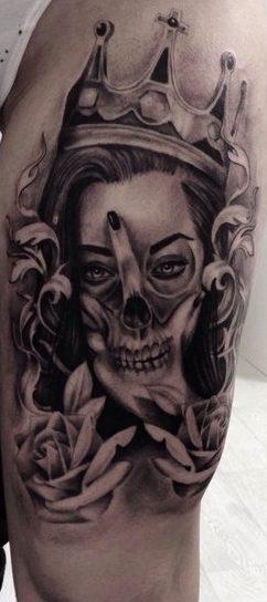 Tatuajes chicanos para mujeres