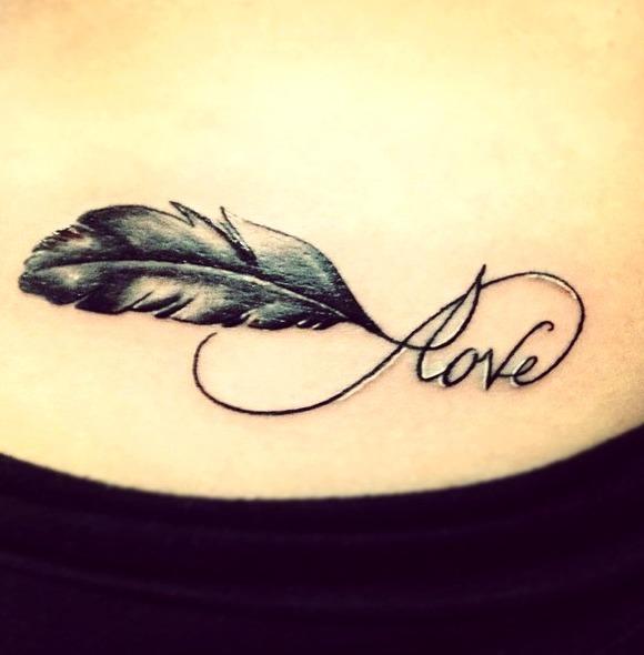 Tatuajes de amor infinito