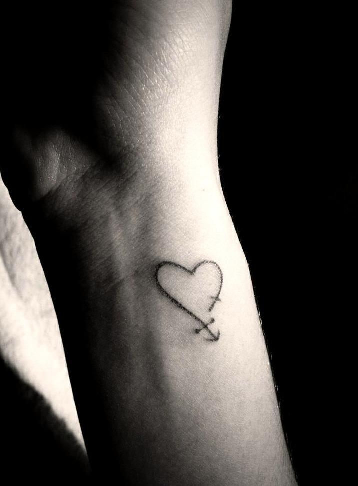 Tatuajes de amor pequeños