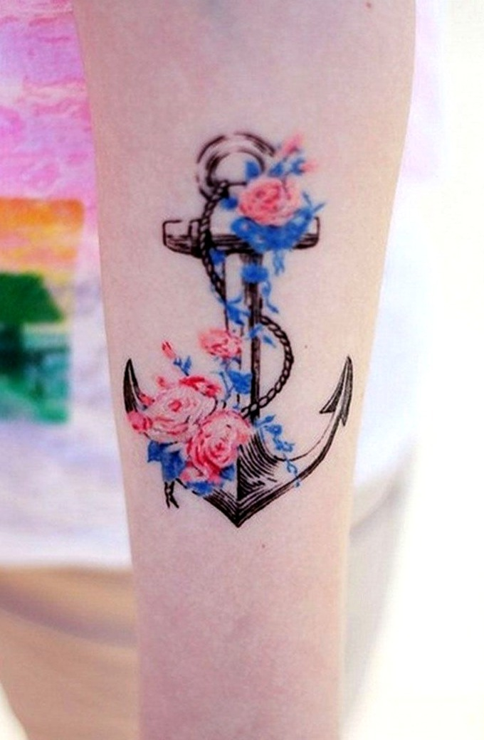 24 Ideas De Tatuajes De Anclas De Hombremujer Fotossignificado