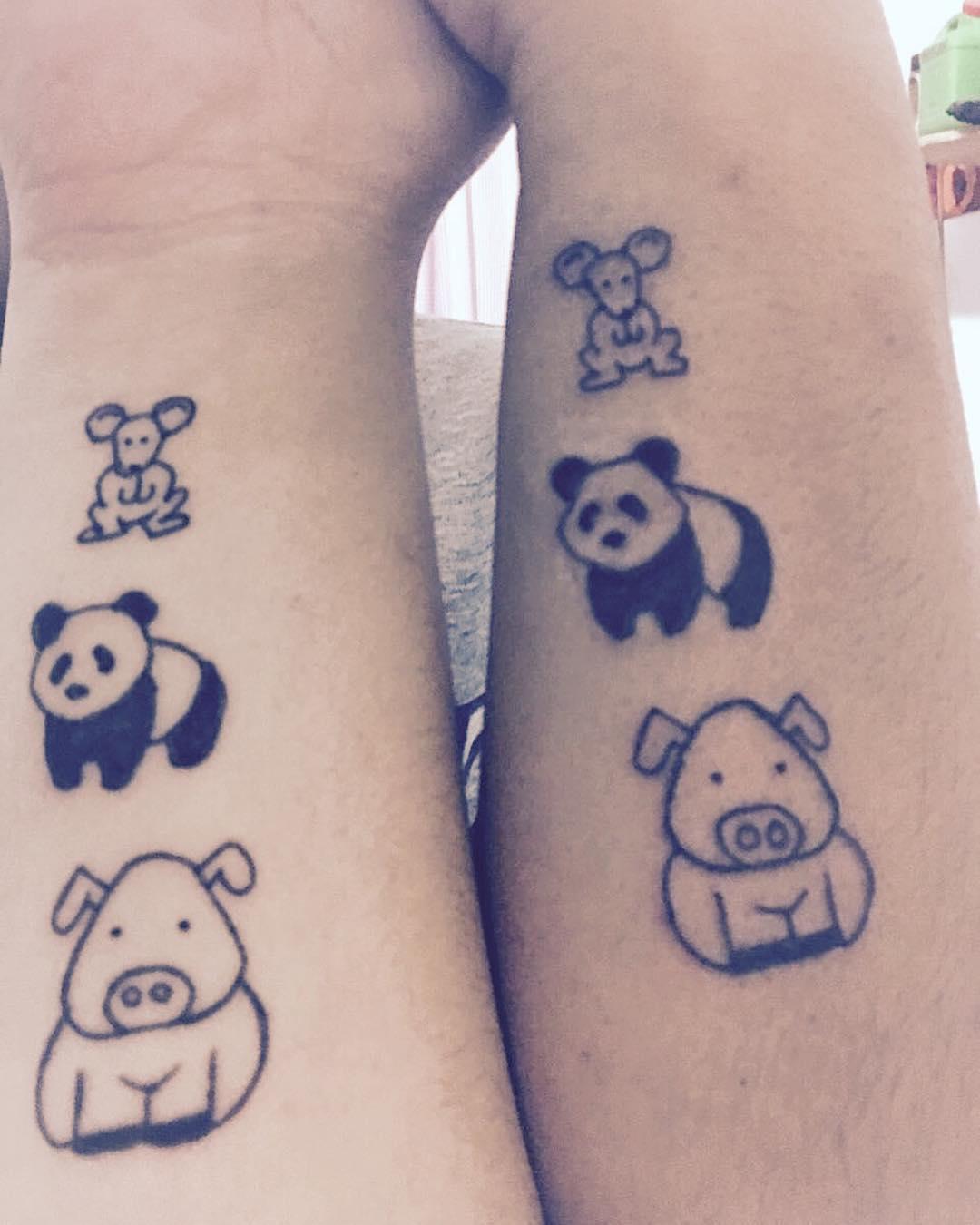 tatuajes de animales hermanas