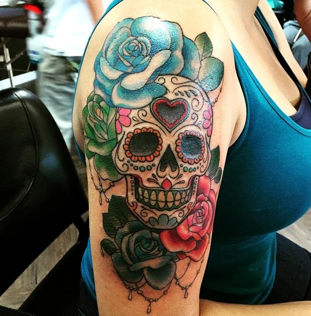 Las 18 Mejores Ideas De Tatuajes De Calaveras Hombre Mujer
