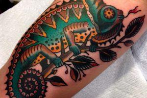 Tatuajes de lagartijas