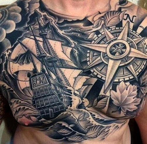 Tatuajes de carabelas
