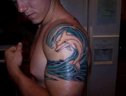 18 Ideas De Tatuajes De Delfines De Hombremujer Significado
