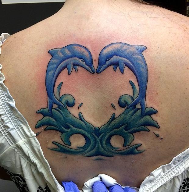 Tatuajes de delfines