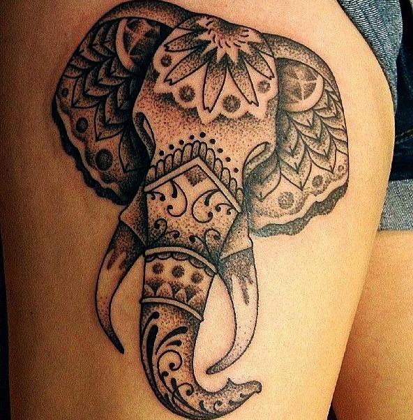Tatuajes de elefantes en el budismo